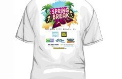30,000 Free T-Shirts To Be Given Away This Spring Break