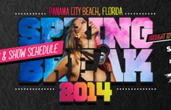 Spring Break 2014 Concert Line-up