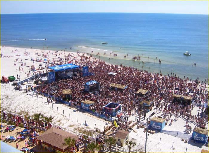 Panama City Beach College Spring Break Dates