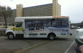 Coors Light Encourages Panama City Beach Spring Breakers To Put Their Keys On Ice
