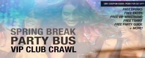 Spring Break Club Crawl