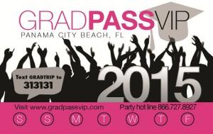 2015 Grad Pass VIP Card